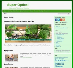 Super Optical Website