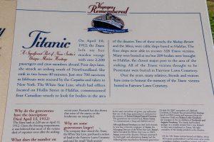 Titanic. April 15, 1912
