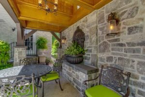 Stone Fence and Pergola Project
